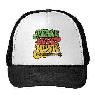 De vrede-liefde-Muziek van Rasta Pet Met Netje