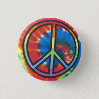 De Vrede van de Kleurstof van het stropdas om Ronde Button 3,2 Cm