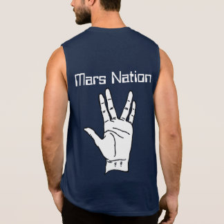 De Vrede van de Natie van Mars T Shirt