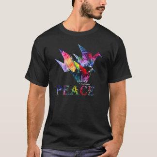 De Vrede van de regenboog - het Vliegen van Drie T Shirt