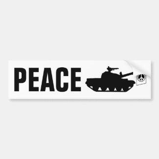 De Vrede van de wereld! Bumpersticker