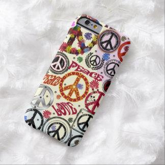 De Vrede van flower power & de Hippie van de Barely There iPhone 6 Hoesje