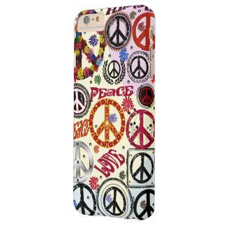 De Vrede van flower power & de Hippie van de Barely There iPhone 6 Plus Hoesje