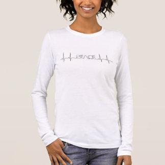 De Vrede van het electrocardiogram op Bovenkant T Shirts