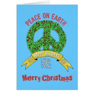 De Vrede van het Teken van de Vrede van de kroon Kaart