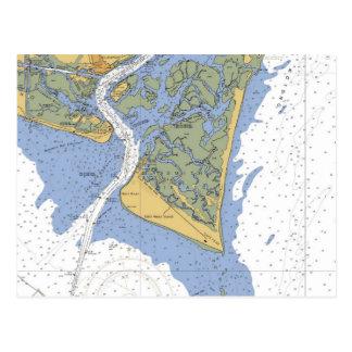 De Vrees van de kaap, het ZeevaartBriefkaart van Briefkaart