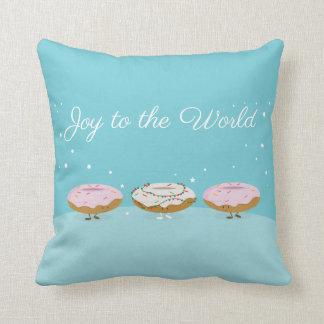 De vreugde aan de Wereld Donuts | werpt Sierkussen