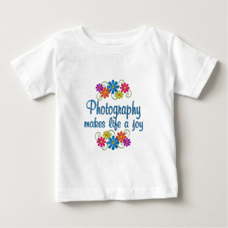 De Vreugde van de fotografie Baby T Shirts