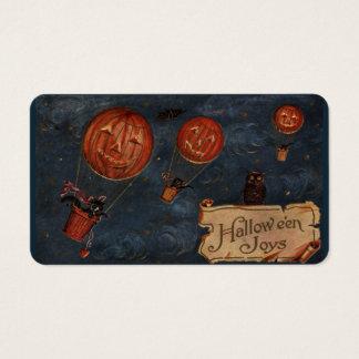 De Vreugden van Halloween behandelen Kaarten Visitekaartjes