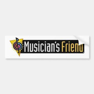 De Vriend Swag van de musicus Bumpersticker