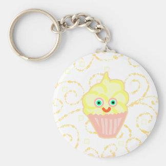 De Vriend van Cupcake van de citroen! Sleutelhangers
