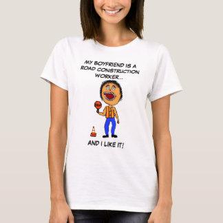 De Vriend van de Bouwvakker van de weg T Shirt
