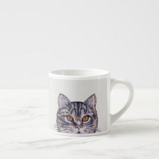De Vriend van de Espresso van de Gestreepte kat Espresso Kop