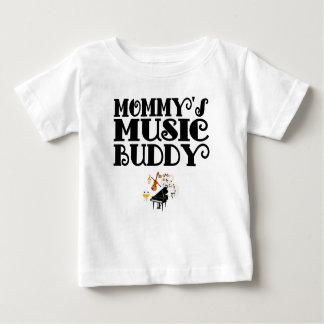 De Vriend van de Muziek van de mama Baby T Shirts