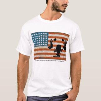 De Vriend van de patriot van Honden bij Guadalupe T Shirt