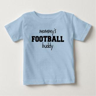 De Vriend van het Football van de mama Baby T Shirts