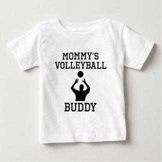 De Vriend van het Volleyball van de mama Baby T Shirts