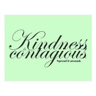 De vriendelijkheid is Besmettelijk Briefkaart