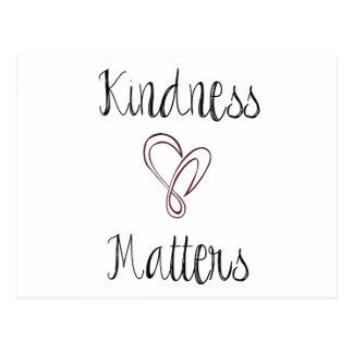 De vriendelijkheid is Hart van belang Briefkaart