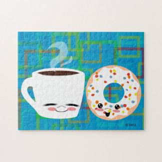 De Vrienden van de koffie en van de Doughnut Puzzels