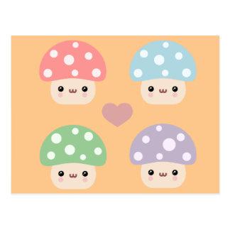 De Vrienden van de paddestoel Briefkaart