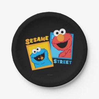 De Vrienden van het Monster van Elmo en van het Papieren Bordje