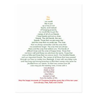 De Vrienden van Kerstmis Briefkaart