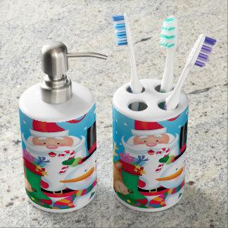 De Vrienden van Kerstmis zepen Automaat en Tandenborstelhouder