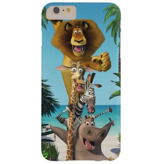 De Vrienden van Madagascar steunen Barely There iPhone 6 Plus Hoesje