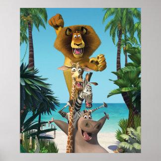 De Vrienden van Madagascar steunen Poster