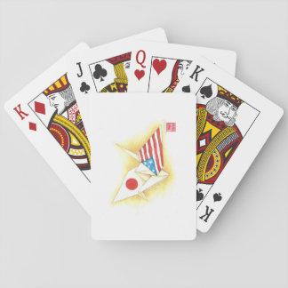 De Vriendschap de Japan-V.S. van speelkaarten ~