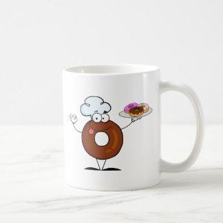 De vriendschappelijke Chef-kok van de Doughnut Koffiemok