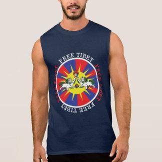 De vrije Leeuwen van de Sneeuw van Tibet en de T Shirt