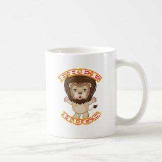 De Vrije Omhelzingen van de leeuw Koffiemok