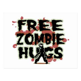 De vrije Omhelzingen van de Zombie Briefkaart