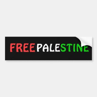 De VRIJE Sticker van de Bumper van PALESTINA