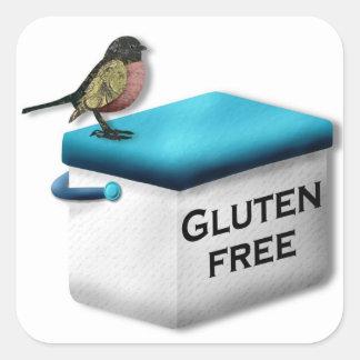 De Vrije Stickers van het gluten