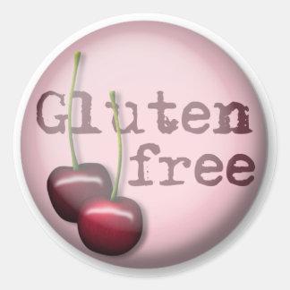 De Vrije Stickers van het gluten - Kers