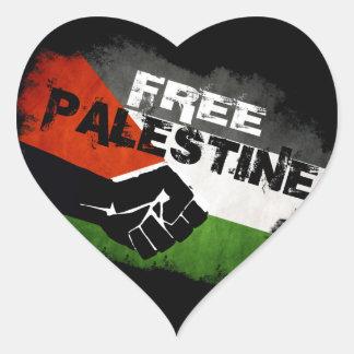 De vrije Stickers van het Hart van Palestina