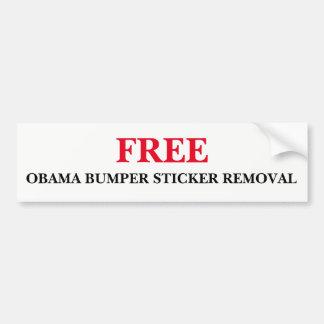 De vrije Verwijdering van de Sticker van de Bumper