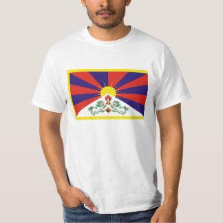De vrije Vlag van Tibet - Peu Rangzen བོད ་ རང ་ T Shirt