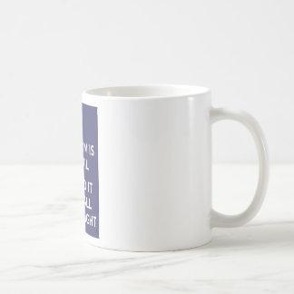 De vrijheid is in Risico verdedigt het met Alle Uw Koffiemok