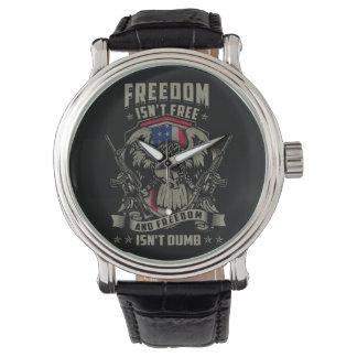 De vrijheid is niet Vrij, en de Vrijheid is niet Horloges