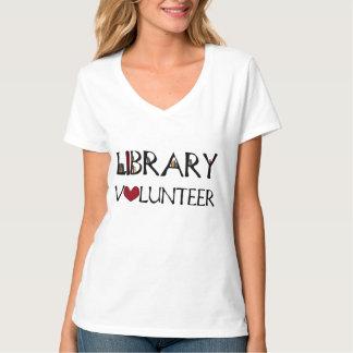 De Vrijwilliger van de bibliotheek T Shirt