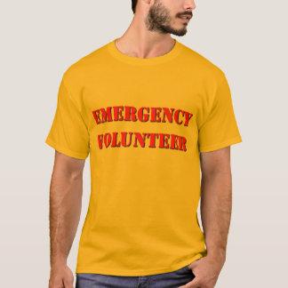 De Vrijwilliger van de noodsituatie T Shirt