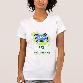 De vrijwilliger van ESL, de vrijwilliger van ESL T Shirt