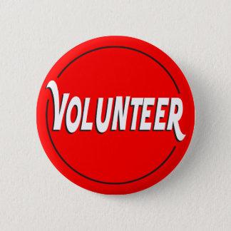 De vrijwilligers Kleur van de Douane van het Ronde Button 5,7 Cm