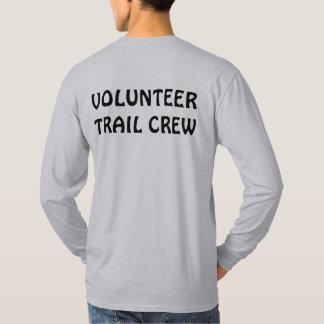De vrijwilligers T-shirt van de Bemanning van de