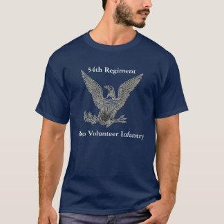 de VrijwilligersInfanterie van 54ste Ohio T Shirt