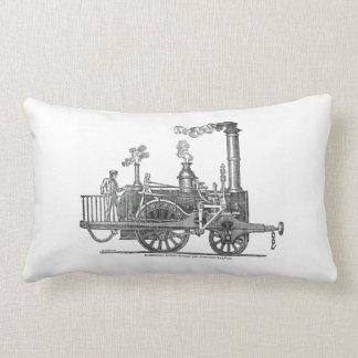 De vroege Locomotief van de Stoom Lumbar Kussen